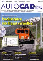 AUTOCAD & Inventor Magazin, Ausgabe 8/13