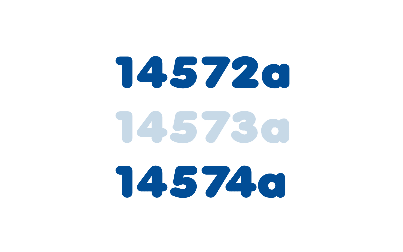 Integrierter Nummerngenerator für die Eindeutigkeit abgelegter Dokumente. GAIN Collaboration glänzt auch hier mit viel Flexibilität.