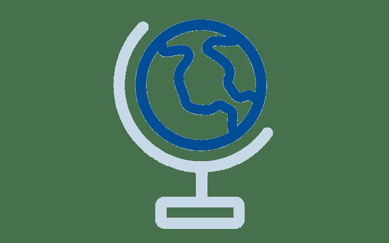 Zugriff weltweit: zum Beispiel zwischen mehreren Standorten. Mit dem Zusatzmodul GAIN Collaboration Location können Sie auch ganze Dokumentstrukturen replizieren ...