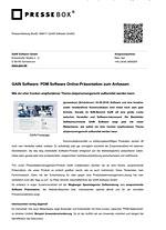 pressebox GAIN Software 08-2016
