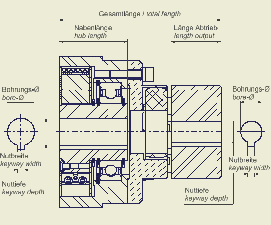 CAD Fliehkraftkupplung