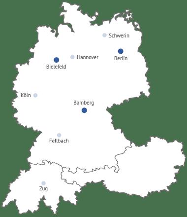 Standorte Partner